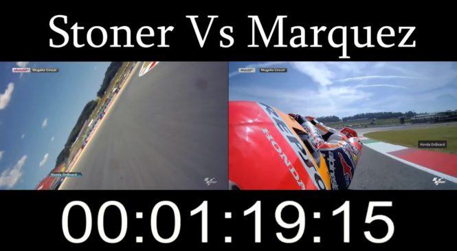 Video: Stoner proti Marquezu