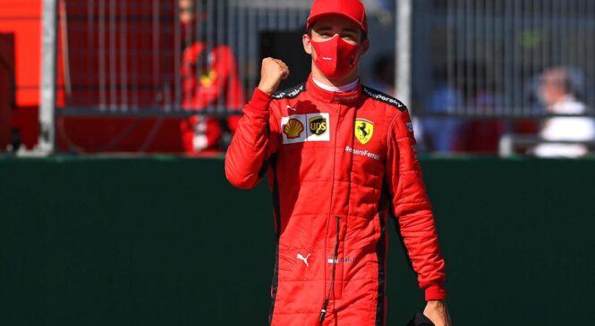 Leclerc: Drugo mesto je kot zmaga
