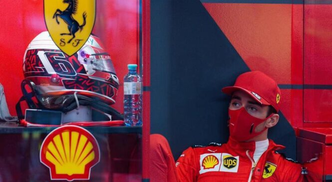 Leclerc na zaslišanje zaradi dveh prekrškov