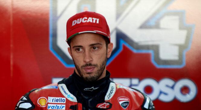 Dovizioso ob koncu sezone zapušča Ducati