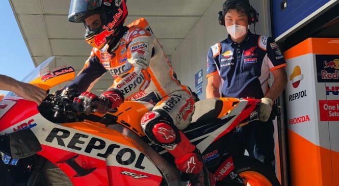 Marquez najhitrejši na dopoldanskem delu testiranj v Jerezu