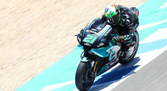 Morbidelliju drugi trening v Jerezu