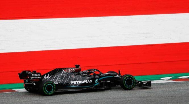 Hamilton tik pred dirko izgubil tri štartna mesta!
