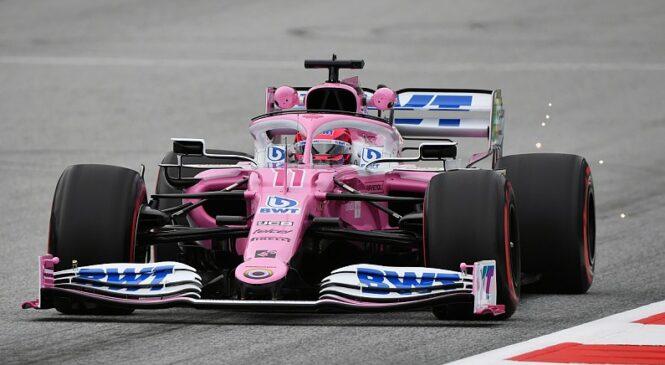 Perez najhitrejši na prvem treningu