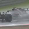 Hamilton dobil deževne kvalifikacije