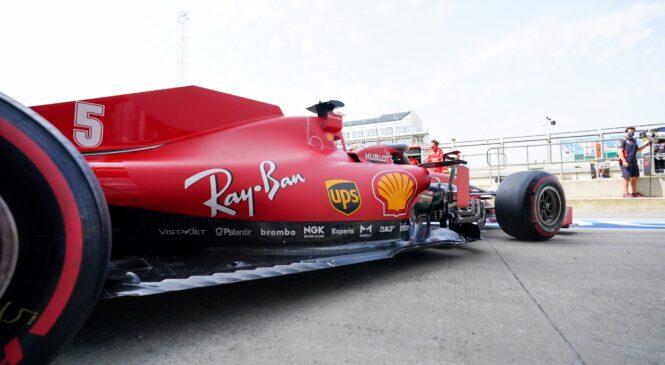 Ferrari našel težavo z Vettlovim dirkalnikom