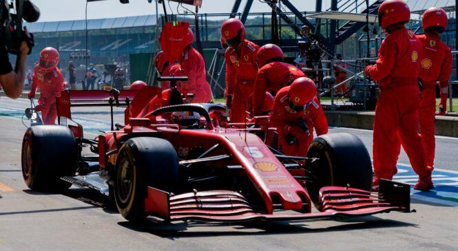 Prepoved menjave map motorja dobra za Ferrari