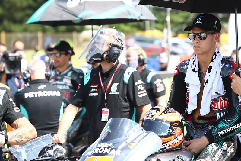 Fabio Quartararo je zaskrbljen nad okužbami v F1 in MotoGP