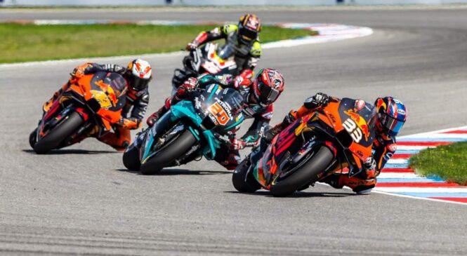 Točkovanje prvenstva MotoGP 2020 po VN Češke