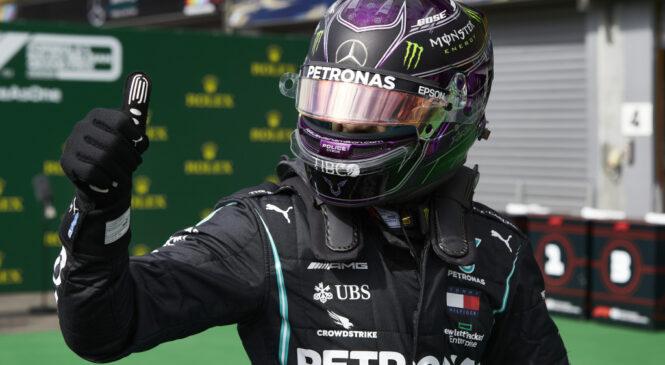F1 VN Belgije: Hamilton z dvojno zmago Mercedesa v Belgiji do 89. zmage