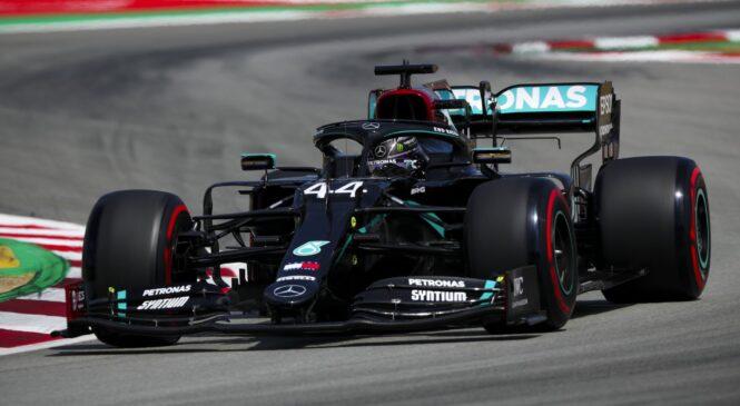 Hamilton dobil kvalifikacije v Barceloni