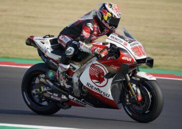 Nakagami prvič vozil Hondin letošnji motocikel