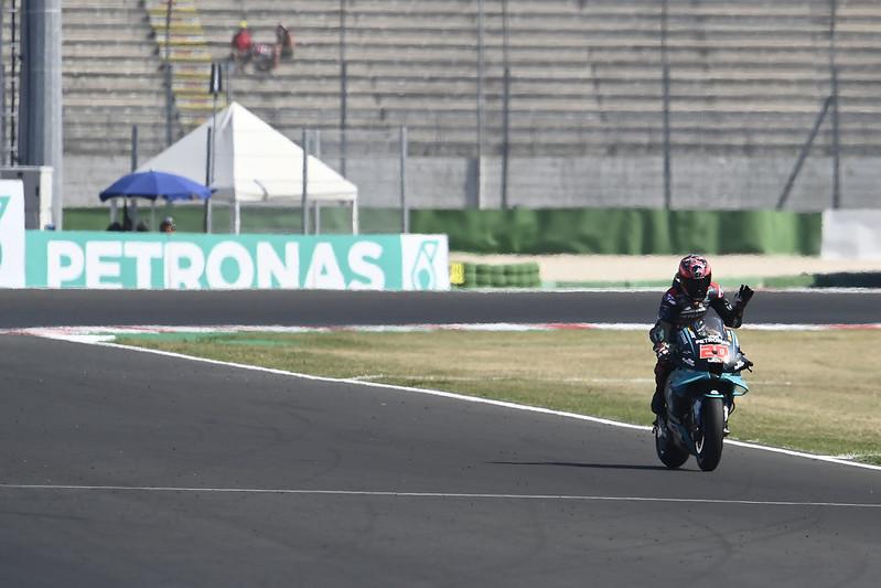Fabio Quartararo je prevzel krivdo za padca v Misanu.