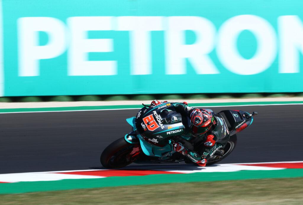 Fabio Quartararo jmeni, da je Suzukijev motocikel letos popoln.