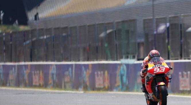 Marquez v dirki s časom: Vrnitev šampiona v Aragoniji?