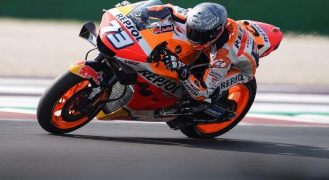 MotoGP Misano: Ogrevanja po dolgem času dobil Marquez