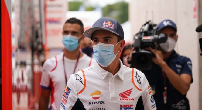 Marquez po desetih dneh zapustil bolnišnico