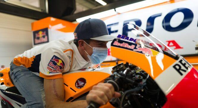 Marquez: poskus vrnitve v Jerezu je bila napaka