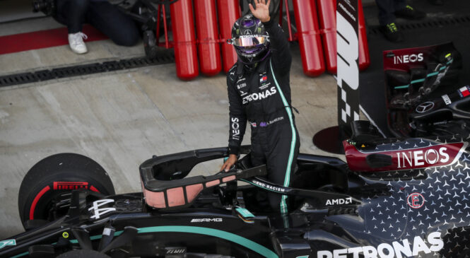 Lewis Hamilton: Zelo dober dirkač, toda precej slabši poraženec?