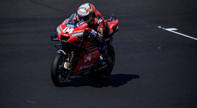 MotoGP točkovanje prvenstva: Štirje dirkači, štiri točke razlike