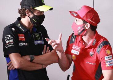 Rossi bi Doviziosa vzel za testnega dirkača