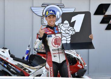 MotoGP VN Teruela: Nakagami najhitrejši na ogrevanjih
