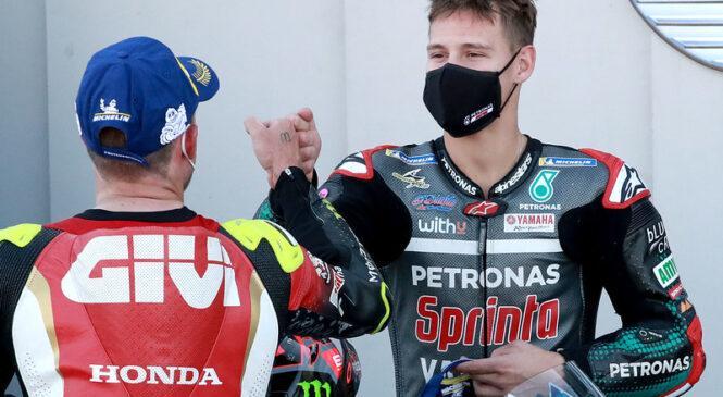 Izjave prve štartne vrste MotoGP