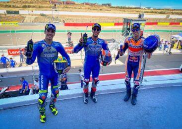 Izjave TOP3 dirkačev z VN Aragonije