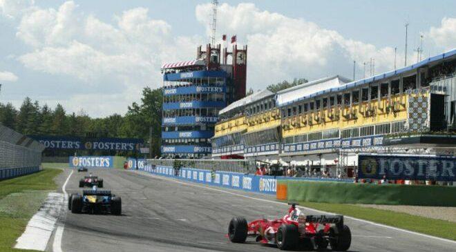 F1 VN Emilije Romanje: Urnik dirkaškega konca tedna