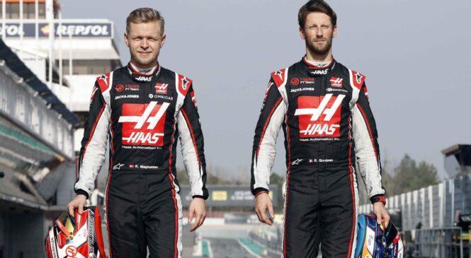 Magnussen in Grosjean se poslavljata od moštva Haas