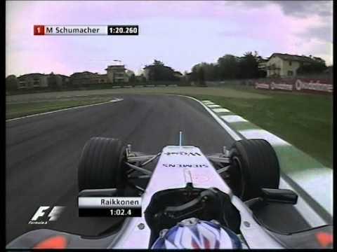 VIDEO: Raikkonenov kvalifikacijski krog v Imoli 2005