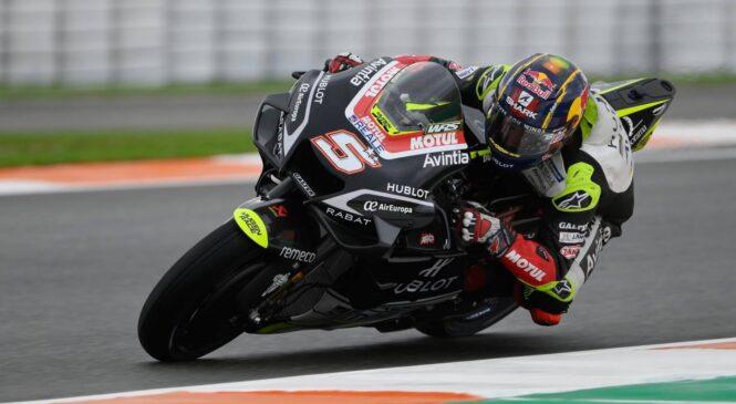 MotoGP VN Portugalske FP2: Najhitrejši Zarco, Rossi po padcu šele 21
