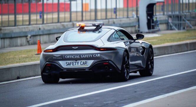 Aston Martin prihodnje leto tudi kot varnostni avtomobil Formule 1