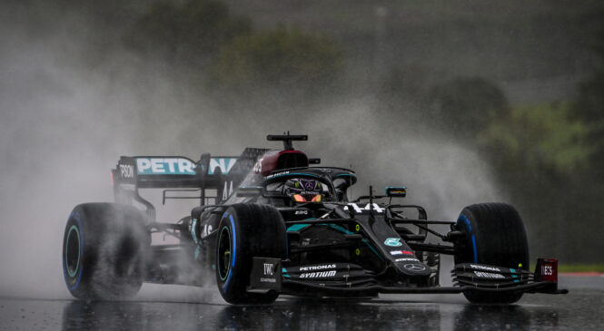 VN Turčije: Hamilton z zmago potrdil sedmi naslov prvaka