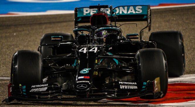 VN BAHRAJNA, FP2: Albon razbil dirkalnik, Hamilton znova najhitrejši