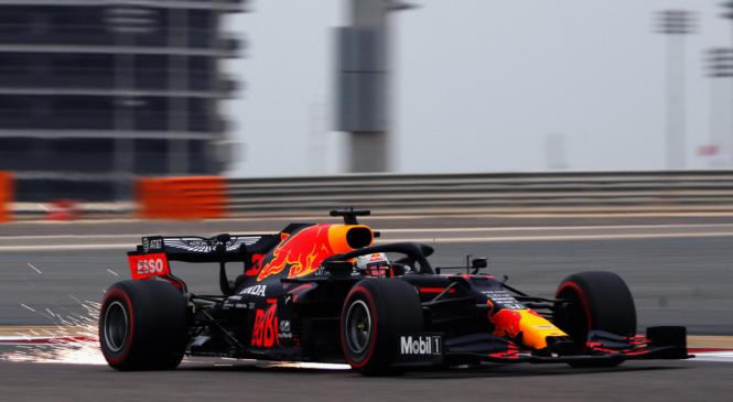 VN Bahrajna, FP3: Verstappen ugnal Mercedesova dirkača
