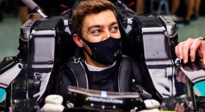 VN Sahirja, FP1: Russell z Mercedesom na vrh treninga
