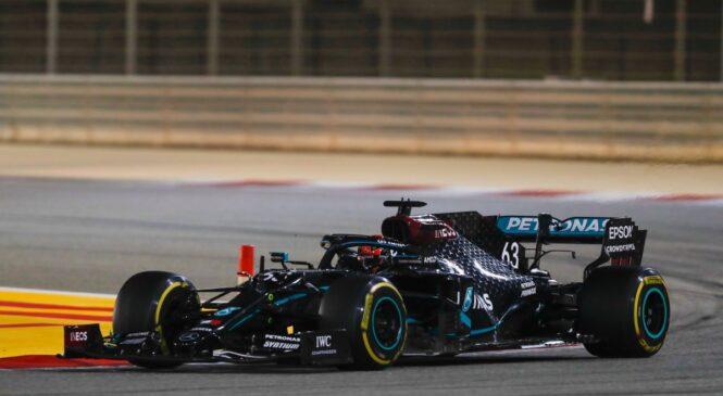 Russell pritisnil na Mercedes za sedež v 2021