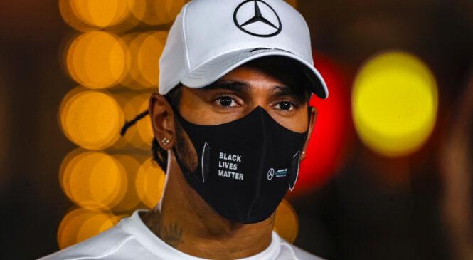 Hamilton prebolel covid, nastop v Abu Dabiju potrjen
