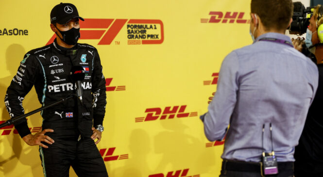 Russell: Boli dvakrat izgubiti dirko