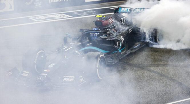 Mercedes prvič po 40 dirkah ni vodil niti en krog