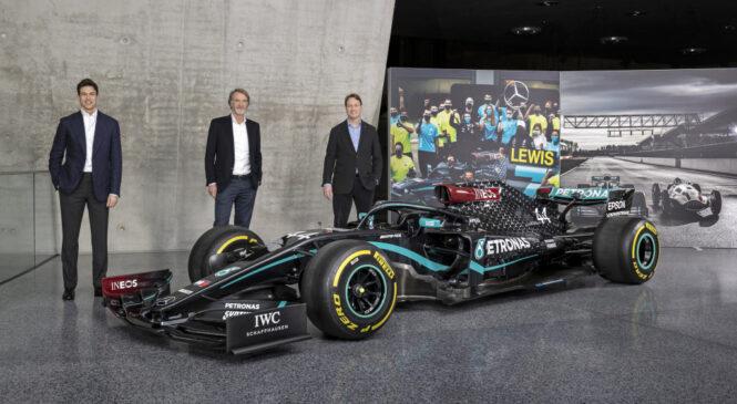 Wolff in Ineos postala enakopravna solastnika moštva Mercedes