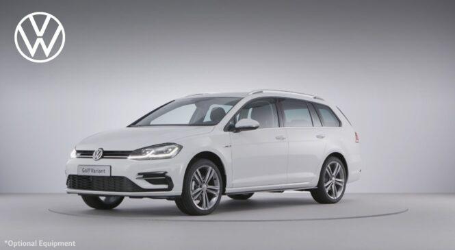 NOVO v Sloveniji: Volkswagen GOLF VARIANT in GOLF ALLTRACK