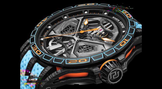 ROGER DUBUIS predstavil ročno uro, ki jo je navdihnil LAMBORGHINI Huracan STO