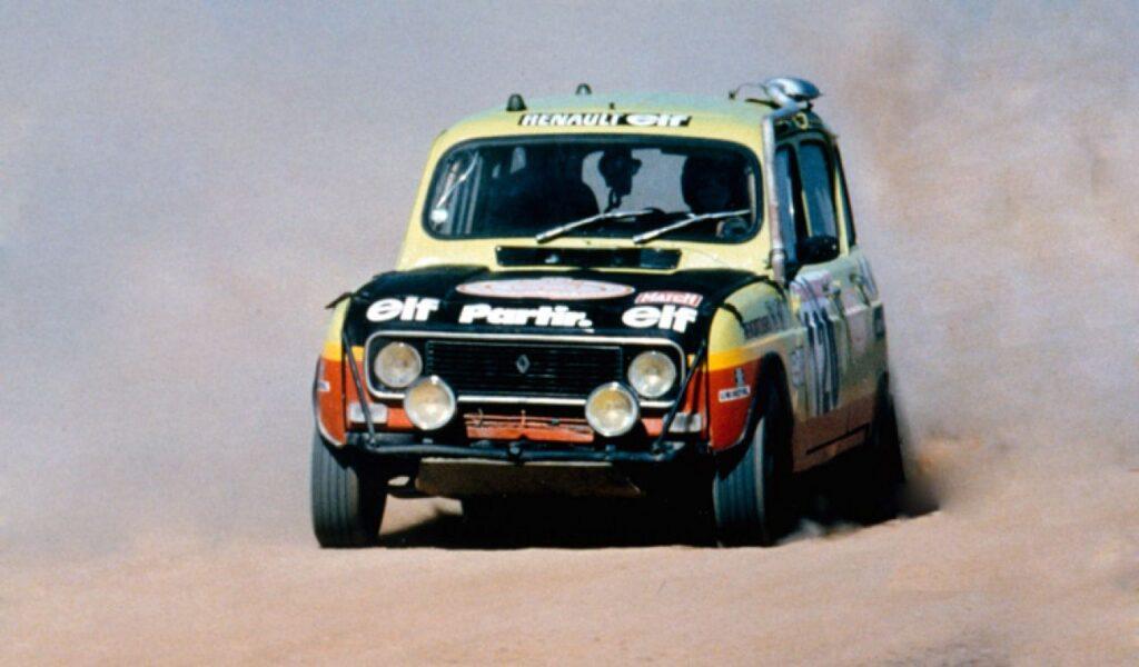 Renault 4 - Katrca na Rally Pariz Dakar
