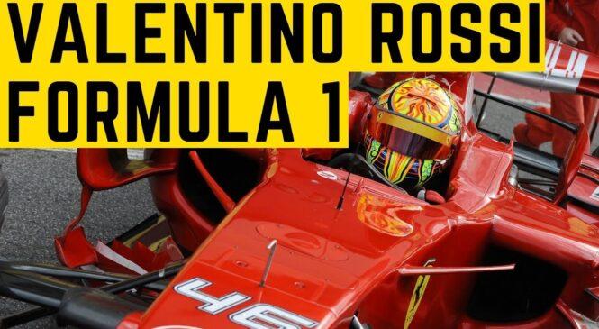 Na današnji dan: Valentino Rossi testiral Ferrarijev F1 dirkalnik