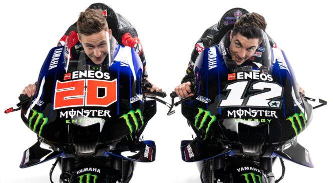 Yamaha predstavila svoje barve za MotoGP sezono 2021