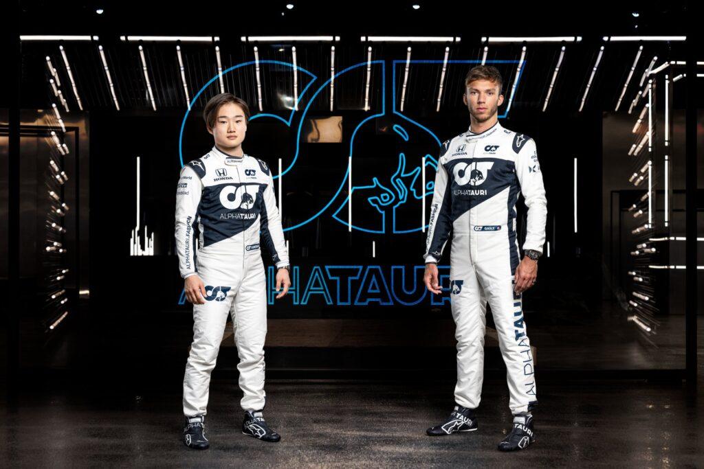 Moštvo Alpha Tauri bosta letos zastopala Pierre Gasly in novinec Juki Tsunoda.