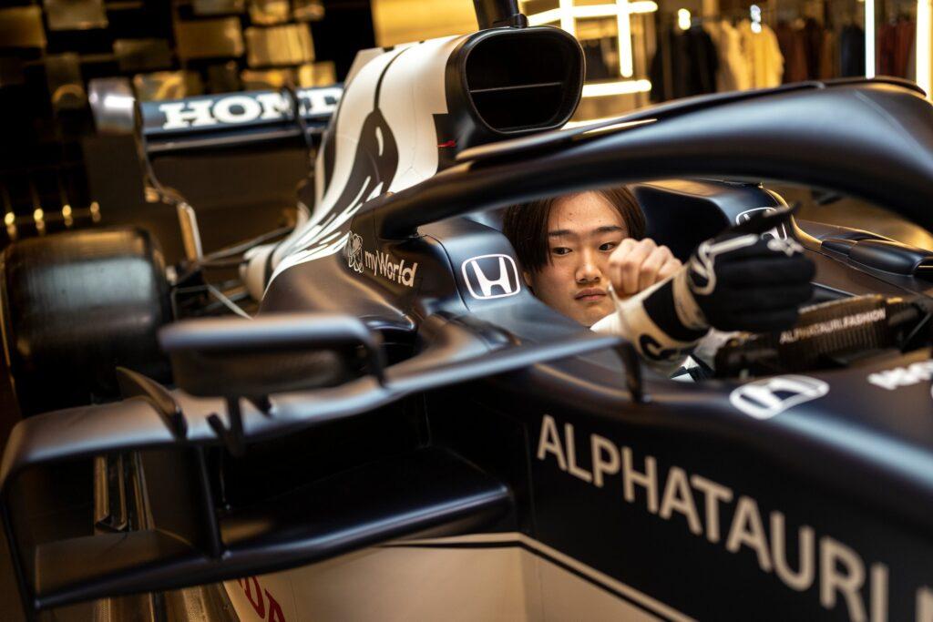 Jui Tsunoda bo letos dirkal za moštvo Alpha Tauri, namesto Daniila Kvjata.