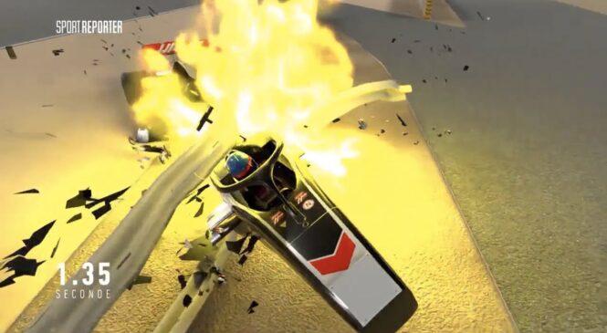 VIDEO: Srhljiva animacija razkriva kako blizu tragedije je bil Grosjean